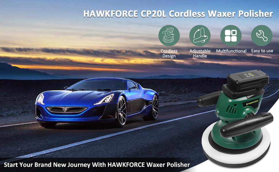 car polisher waxer
