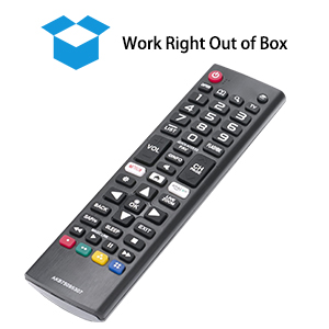 lg universal remote control for smart tv