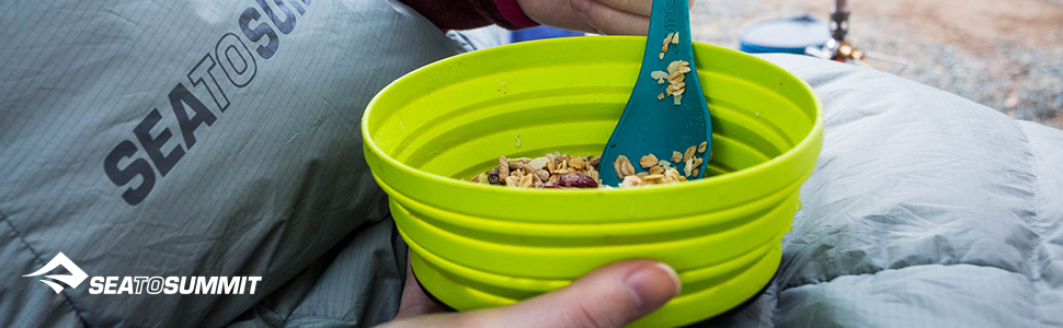 Sea to Summi X-Bowl camping kitchenware