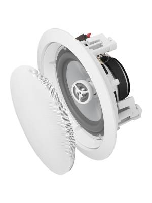 weather-resisant in-ceiling speakers for bathroom laundry room
