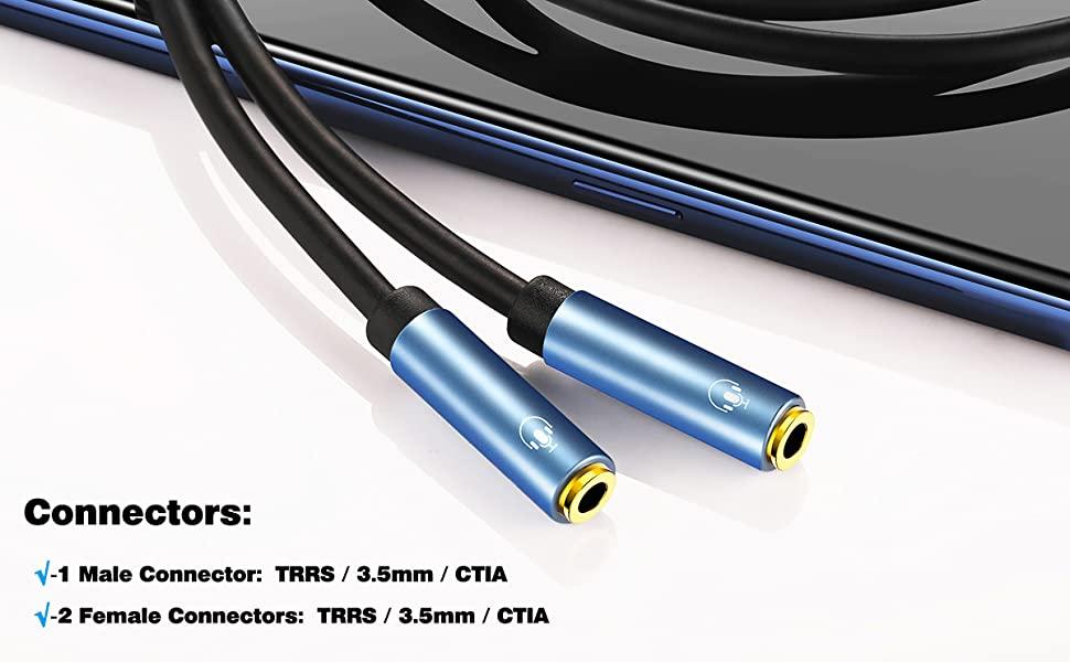 3.5mm audio splitter