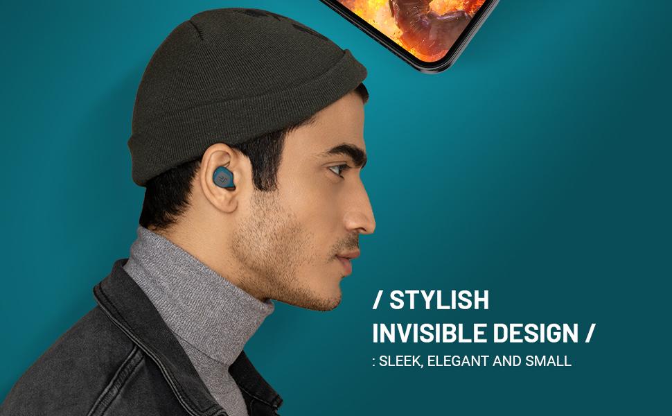 secure fit true wireless bluetooth earbuds earphones bass mobile handsfree stylish latest 2019 2020