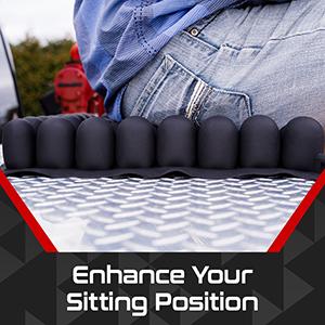 Air Seat Innovations Contour Cushion seat wheelchair comfort