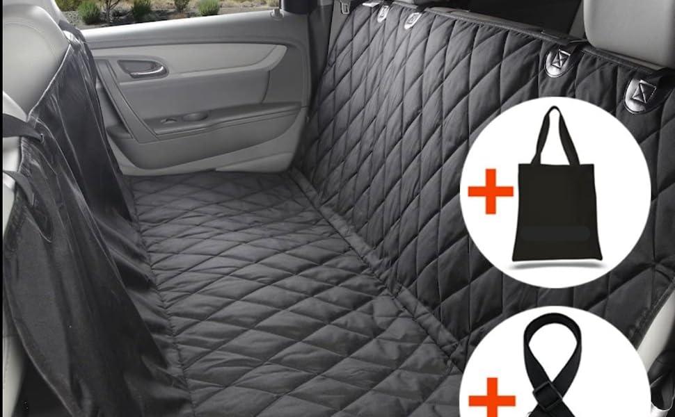 HONDA CIVIC TYPE-R HEAVY DUTY WATERPROOF BLACK SINGLE CAR SEAT COVER