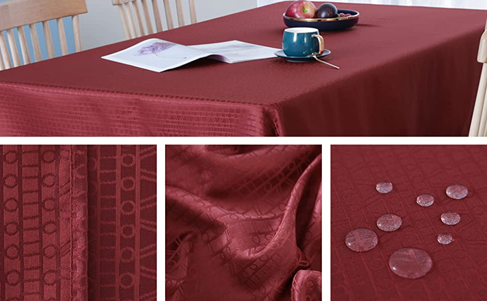 TA2827-1 Jacquard Tablecloth