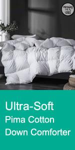 Pima Cotton Down Comforter