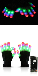 kid LED Flashing Gloves