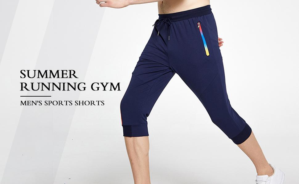 men shorts 3/4