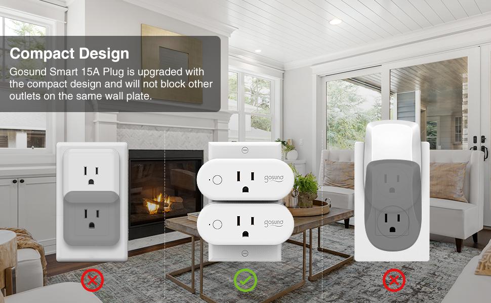 Compact Design Gosund Plug