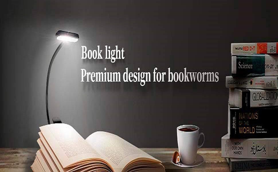 PREMIUM PORTABLE LONG RUNNING BOOK READING LIGHT