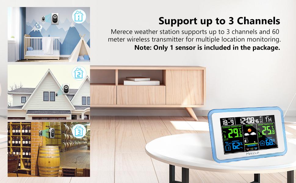Weather Station Indoor Outdoor