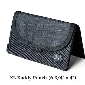 XL Buddy Pouch, Running Pouch, Travel Pouch, Waist Pack, running waist pack
