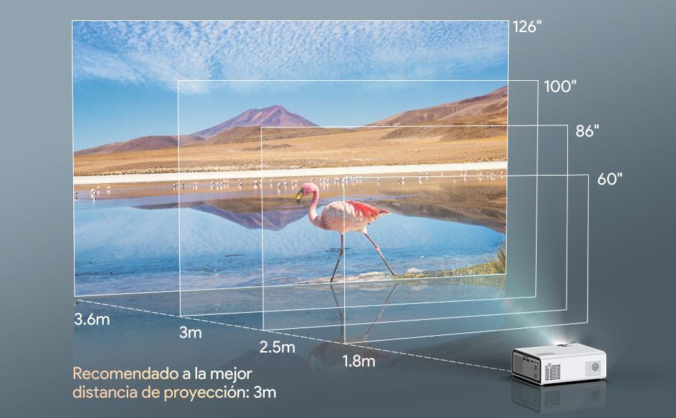 Projektor 720P