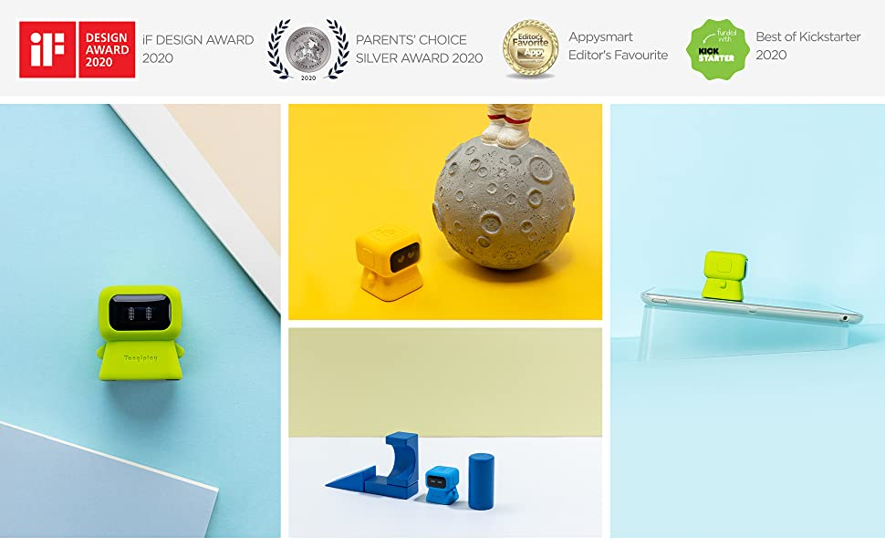Tangiplay Code & Play coding learning toys won the german if design award 2020