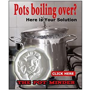Pot Minder - Prevent Messy Boil Overs
