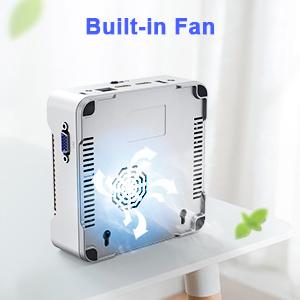 mini pc with fan