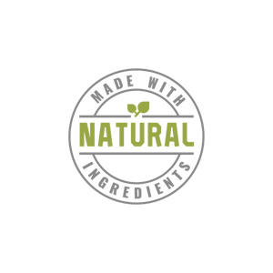 Made with Natural Ingredients Badge
