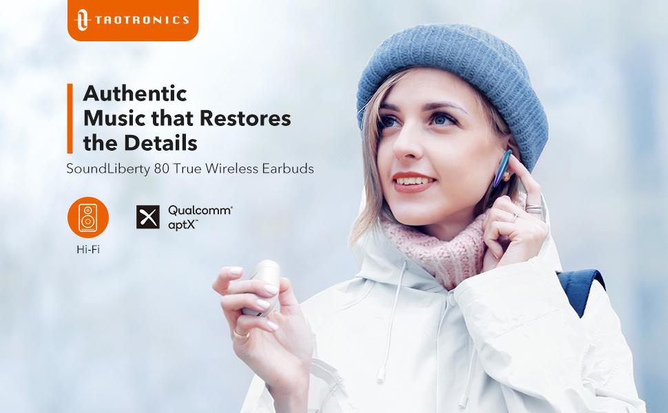 TaoTronics TT-BH080 Wireless Earbuds