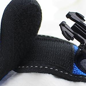 velcro strap sof mesh harness