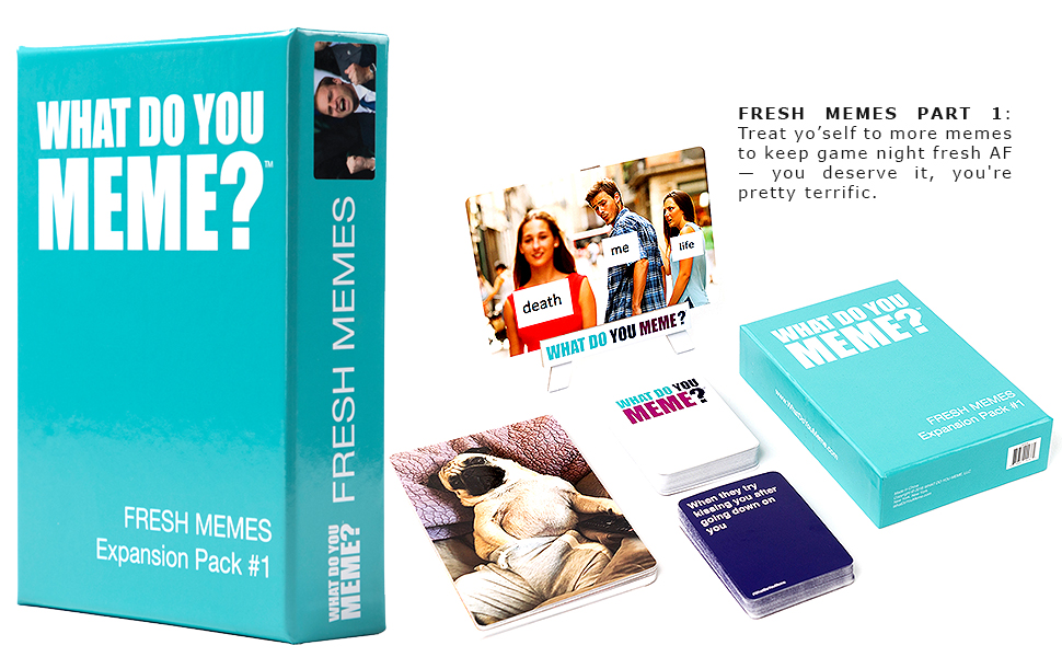 What Do You Meme Stoner Expansion Pack Friends Package May Vary Fun Card Game