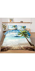 Beach Comforter Set