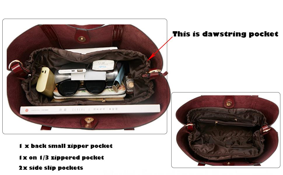Women's Hobo Handbags genuine leather backpack for women crossbody bags for women