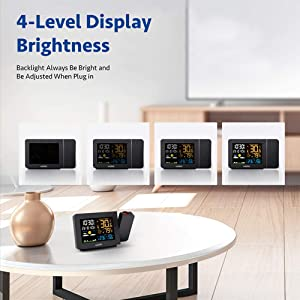 Multi-functional LCD Screen Display & Adjustable Brightness