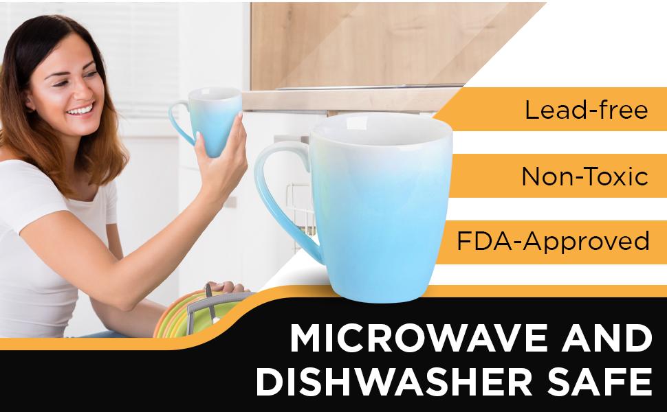 coffee mugs microwave and dishwasher safe