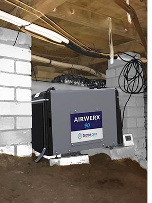 Crawl space amp; Basement Dehumidifier