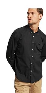 POLO CLUB Camisa de Popelín Custom Fit: Amazon.es: Ropa