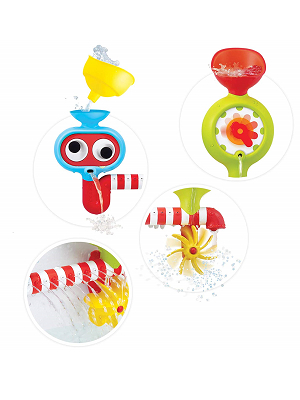 Yookidoo bath toy set sensory development