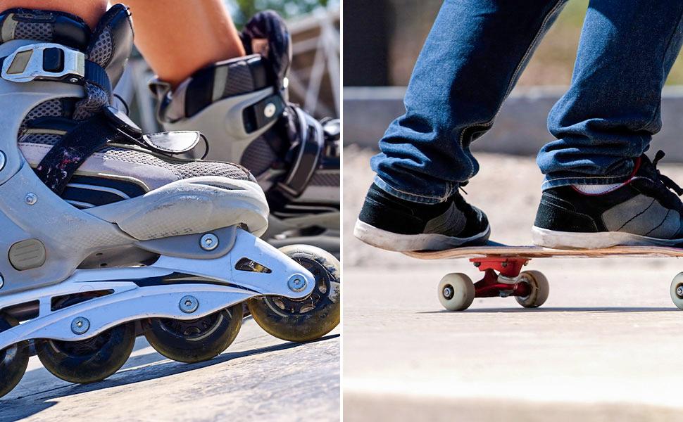 16 Reibungslos Abec 9 Skateboard Rollschuhe Räder Scooter Ersatz Lager