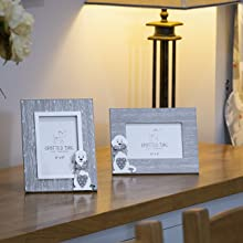 photo frames wood grey picture frame wall 6x4 small animal dog lover owner idea gifts women kids