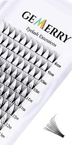 4d 6d 8d 10d premade fans volume lashes 8-14mm mix