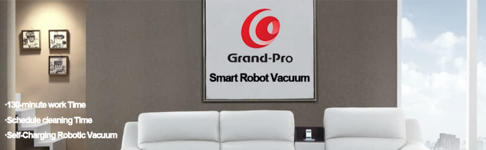 Grand-Pro A1 Intelligent sweeping robot Grand-Pro A1 Robot Vacuum Cleaner for Pet Hair