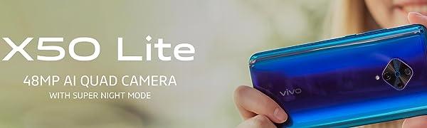 vivo;X50 lite;smartphone;android;sim free mobile;mobile phone;