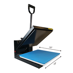 "15/""x15/"" DIY Digtal Clamshell Heat Press Machine Sublimation Transfer for T-shirt"