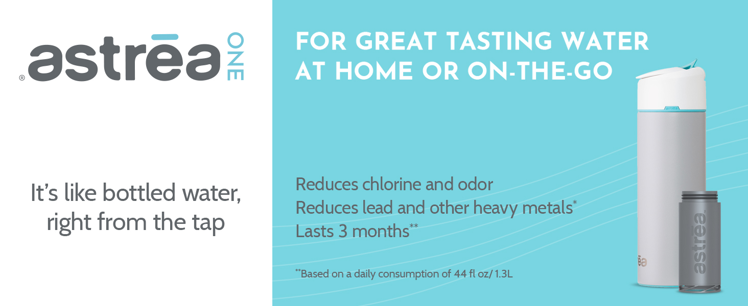 astrea ONE - For great tasting water at home or on the go