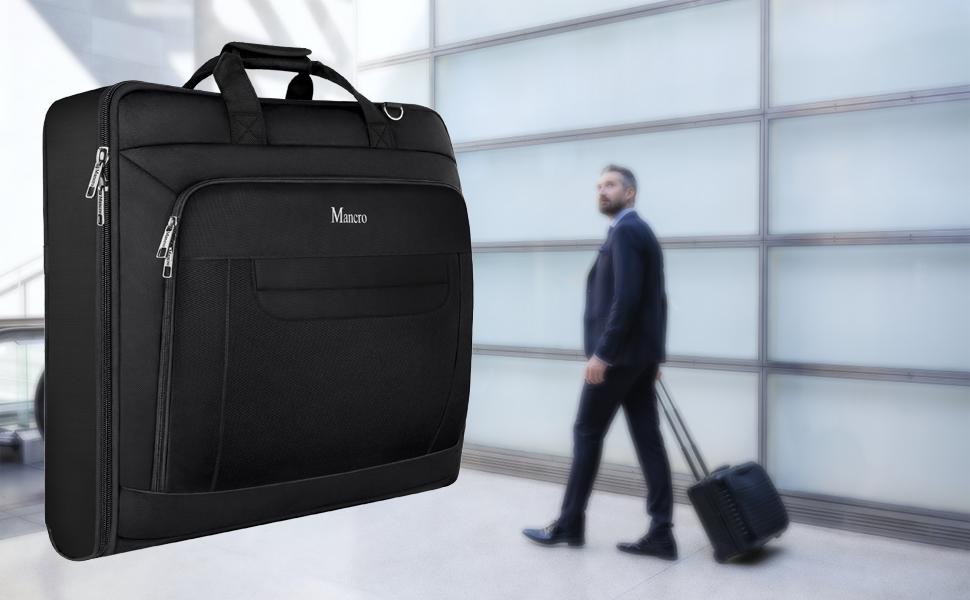 Travel Garment Bag for Men Women