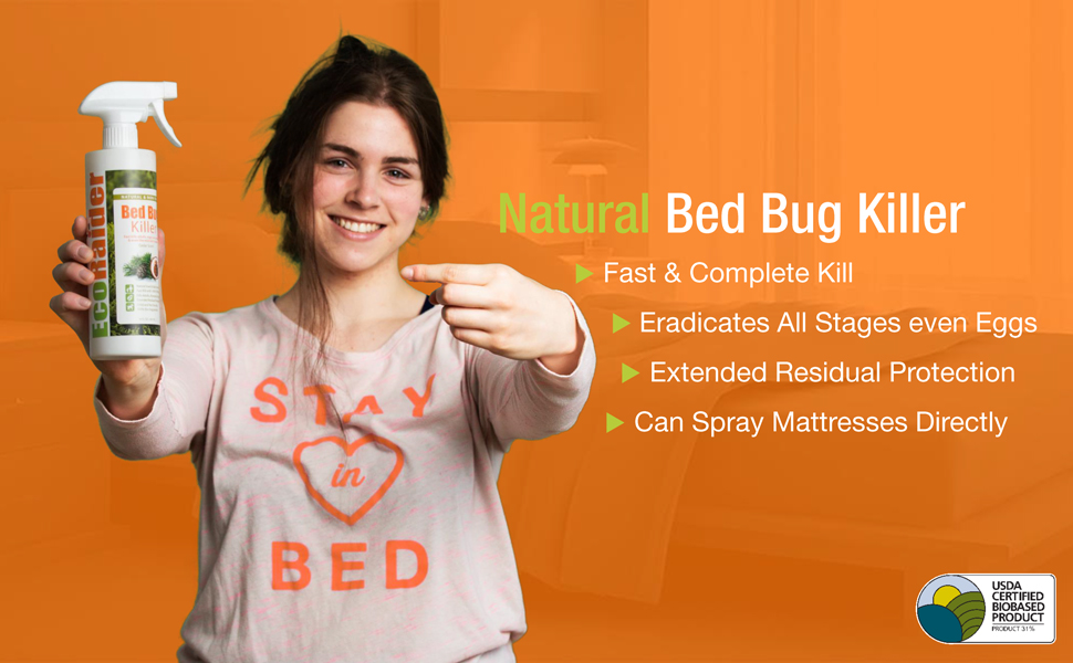 Amazon Com Bed Bug Killer By Ecoraider 16 Oz Fast And Sure Kill With Extended Residual Protection Natural Non Toxic Child Pet Friendly Insect Repelling Products Garden Outdoor