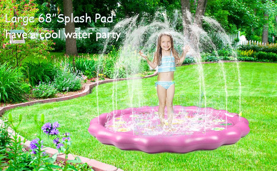 winique splash pad