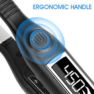 ergonomic handle without burning