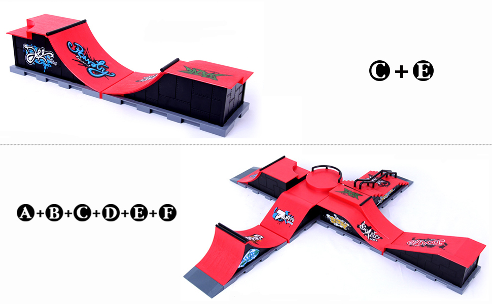fingerboard ramps finger boards for kids mini skateboard ramp