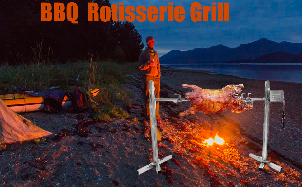 BBQ Rotisserie Grill