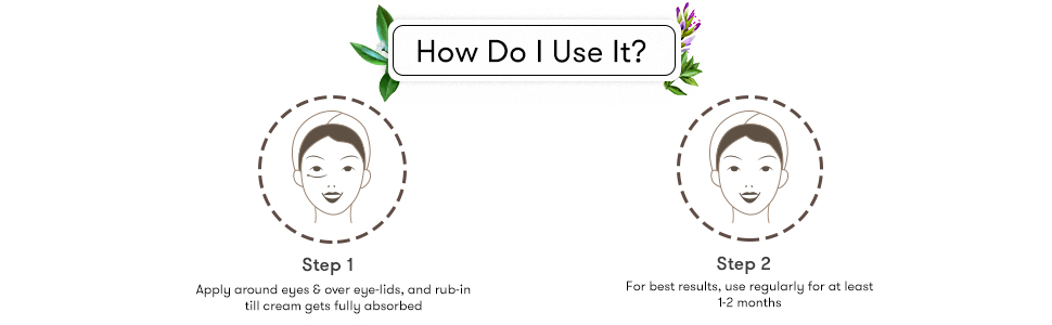 Beauty Tretment, Skin Care, Natural Cream, Dark Circles Remove Cream,