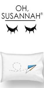 Oh, Susannah Pillowcase, Paper airplane
