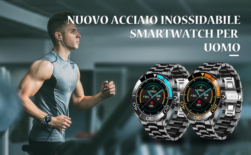 smartwatch per uomo