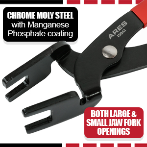 Fuel and AC Line Disconnect Pliers - For Use on Single or Two Step Collar Connector Lines