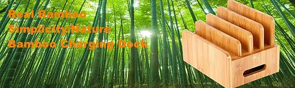bamboo charging station