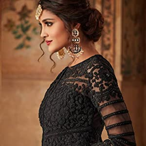 gown for women party wear long anarkali latest design party wear fashion wedding evening 2020